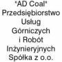 LOGO - AD COAL Przedsiębiorstwo Usług Górniczych i Robót Inżynieryjnych Spółka z o.o.