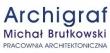 LOGO - ARCHIGRAF Michał Brutkowski