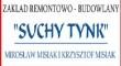 LOGO - Zakład Remontowo-Budowlany SUCHY TYNK Mirosław Misiak i Krzysztof Misiak