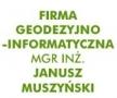 LOGO - JANUSZ MUSZYŃSKI Firma Geodezyjno-Informatyczna