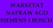 LOGO - WARSZTAT NAPRAW AGD SIEMENS I BOSCH