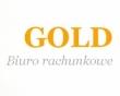 LOGO - GOLD BIURO RACHUNKOWE BOŻENNA MAJDA-CZAPNIK