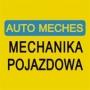 LOGO - AUTO MECHES  - warsztat samochodowy Warszawa