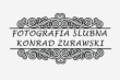 LOGO - Fotografia Ślubna Konrad Żurawski - Legnica