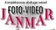 LOGO - FOTO-VIDEO-JANMAR  LIMUZYNA DO ŚLUBU - Czeladź
